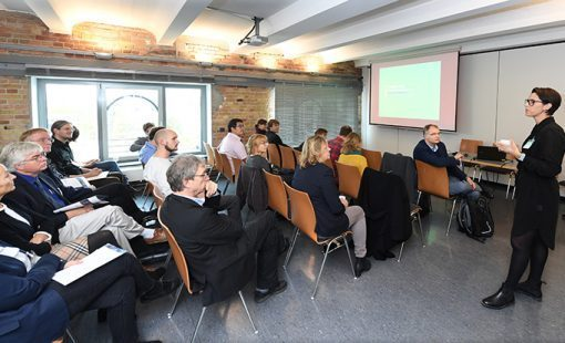 """Photo: UHH/CEN/D. Ausserhofer """"Ocean – Climate – Sustainability Research Frontiers"""": Science Conference in Berlin."""