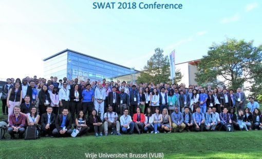 SWAT 2018 conference participants. Photo credit: SWAT conference website