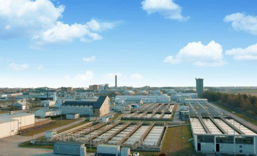 Photo: Wastewater treatment plant i Uppsala, Sweden
