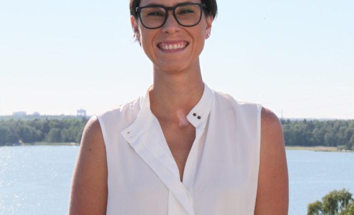 Karina Barquet, BONUS RETURN coordinator in Helsinki, Finland
